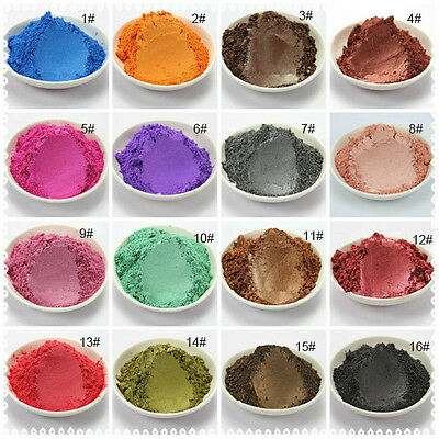 Natural Mineral mica powder DIY Soap Dye Colorant makeup Eyeshadow pearlescent