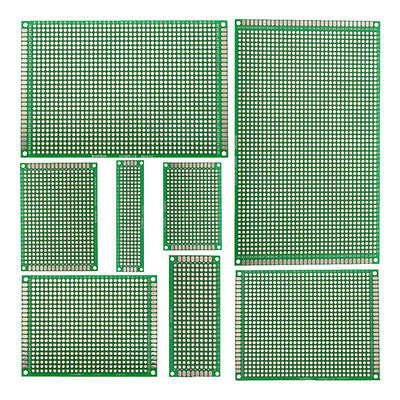 4x Double-Side Prototype FR-4 PCB Stripboard Universal Printed Circuit Board F6