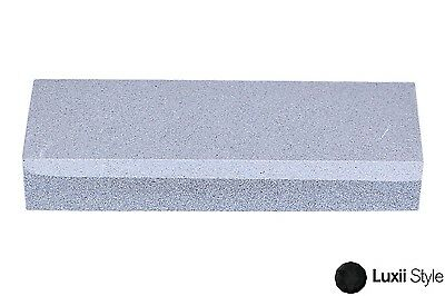"6"" Combo Dual Grit Whet Sharpening Wet Stone Aluminum Oxide Sharpener Knife"