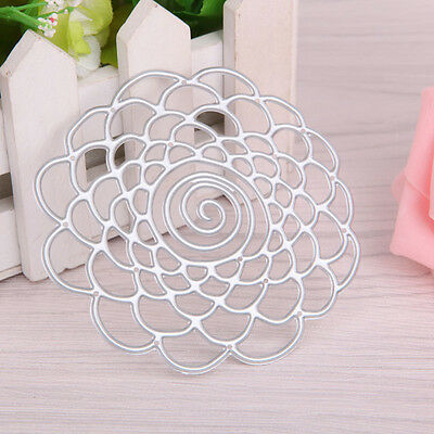 Flower Ball Metal Cutting Dies Stencil Scrapbooking Embossing Album Paper Cards