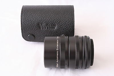 VIVITAR 36, 20, 12mm EXTENSION TUBE SET  M42 Mount