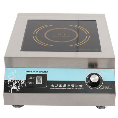 5000W LED Display Electric Induction Cooker Apply To Hotels Shopping Malls