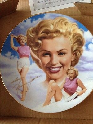 "Hamilton Remembering Norma Jean ""The Girl Next Door"" Marilyn Monroe plate"