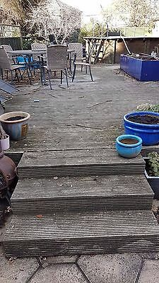 Reclaimed Garden Patio Wood Decking