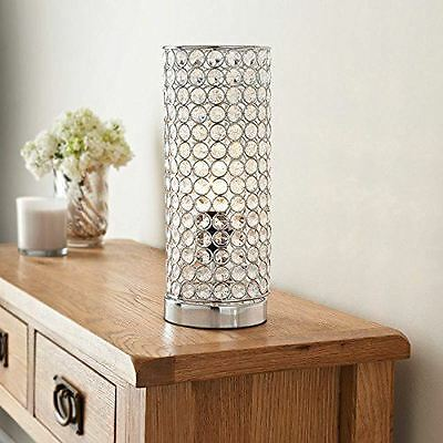 New Vienna Crystal Diamond Table Lamp Modern Style Dining Bedroom Light