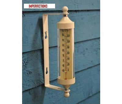 Tube Thermometer in Clay by Garden Trading