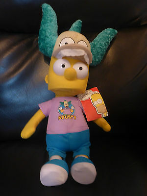 "Bart Simpson Krustyland - 17"" Plush/Soft Toy"
