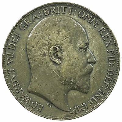 Great Britain, Edward Vii Crown, Silver, 1902