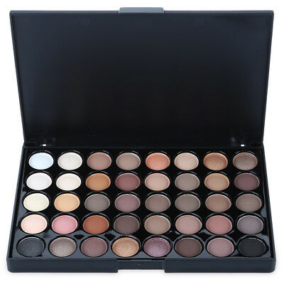 40 Colors Fashion Pearl Shimmer Special Eye Shadow Compact Palettes High Quality