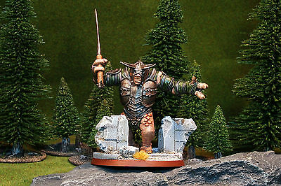 Pro Painted Mordor Troll D . Lord of the Rings - The Hobbit