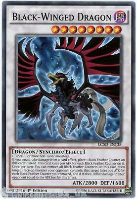 LC5D-EN135 Black-Winged Dragon Common 1st Edition Mint YuGiOh Card