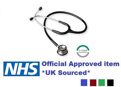 Nhs Quality Diamond Professional Stethoscope For Emt Medical Doctor Vet *new*