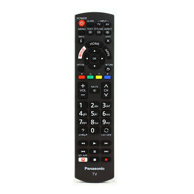 Genuine Panasonic TV Remote Control Replaces Discontinued N2QAYB000829 Remote
