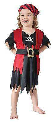 FANCY DRESS Pirate Girl Toddler