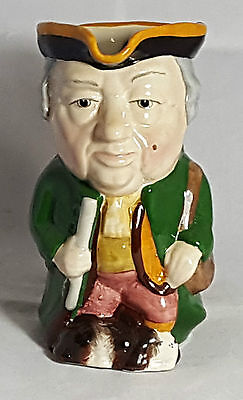 Beautiful Vintage Staffordshire Toby Jug by Manor Square.