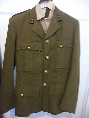 Complete Original Ww2 British Artillery Officers Private Purchase Uniform