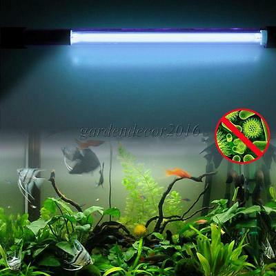 5W/9W/11W UV Aquarium Fish Tank Water Sterilizer Purifier Lamp Light Tube Bulb
