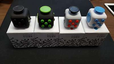 *in Stock* Fidget Cube Stress Anxiety Relief 6 Sided Desk Toy For Adults & Kids