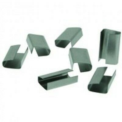 1000 Metal Clips Seals For Use With Plastic Banding Strapping Tools SO-12-32