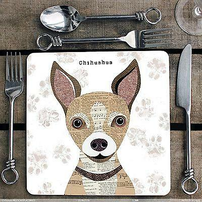 Chihuahua Placemat Tablemat Gift