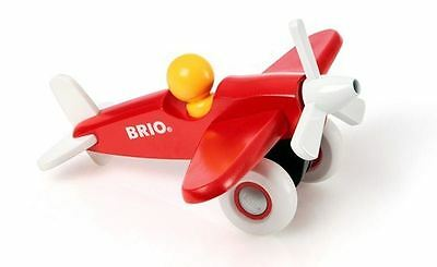 Brio - Wooden Push Along Airplane