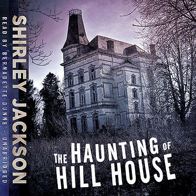 The Haunting of Hill House by Shirley Jackson CD 2010 Unabridged