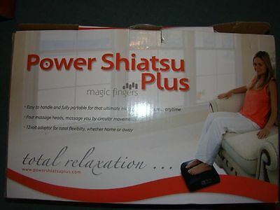 BNIB  Shiatsu massager portable and safe.user friendly.  Ideal Christmas present