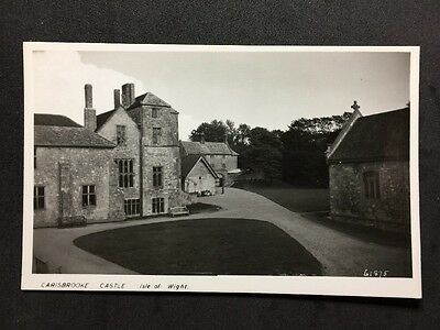 Vintage Postcard - Isle Of Wight #A19 - RP Carisbrooke Castle - Patterson