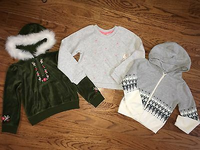 New GYMBOREE Girls Cute Sweaters, size 5/6 All Spruced Up & Fair Isle Flurry