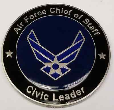 USAF United States Air Force Chief of Staff Civic Leader