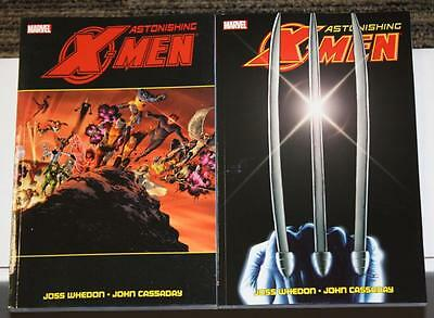 Marvel Astonishing X-Men by Whedon & Cassaday COMPLETE SET Vol 1 & 2 UNREAD