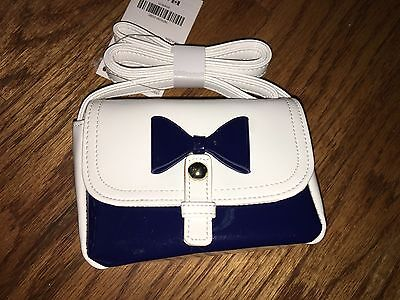 NWT Gymboree CIAO PUPPY White & Navy Purse - VERY CHIC!!