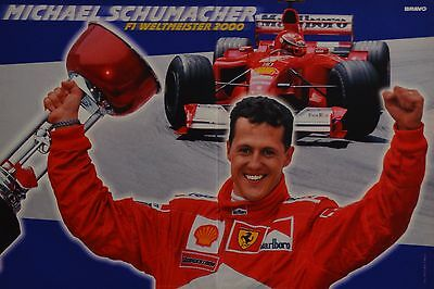 MICHAEL SCHUMACHER - A3 Poster (ca. 42 x 28 cm) - Formel 1 Weltmeister Clippings