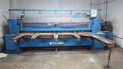 Wysong 12' Shear 240 volt 3/8 In