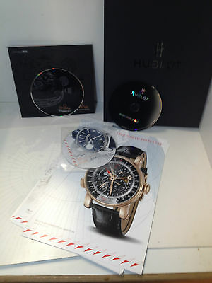 Omega, Hublot and Arnold & Son pres kits Basel (S/P)
