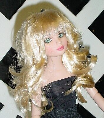 "Doll Wig, Monique Gold ""Shaine"" Size 8/9 - Champagne"