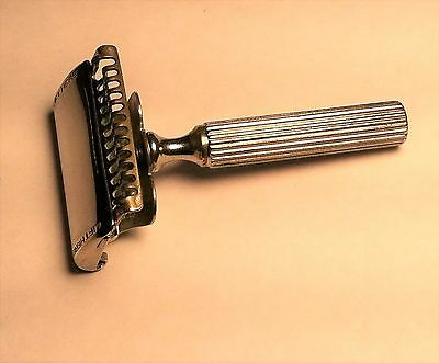Vintage Ever Ready Single Edge Safety Razor With 1914 Patent