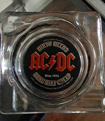 Official AC/DC Dirty Deeds Done Dirty Cheap ASHTRAY
