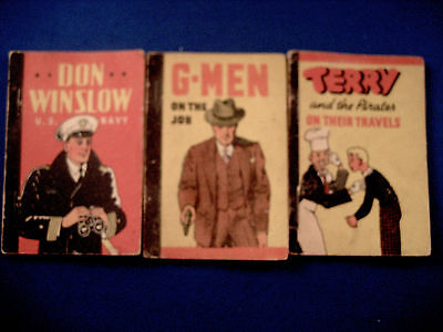 Three Whitman Penny Books / Dated 1938