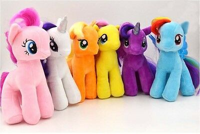 18cm My Little Pony Horse Figures Stuffed Plush Soft Teddy Doll Toy Gift Ponny