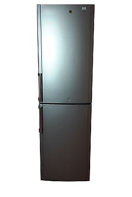 Hotpoint FFFL2000 Fridge Freezer, Silver - G 3221808