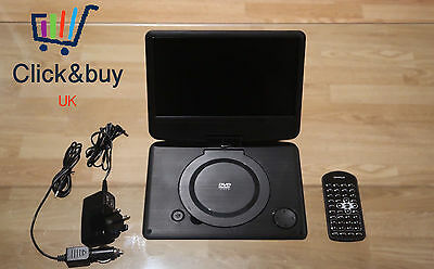 Portable DVD Player And USB Player  Polaroid 9inch Screen NEW Damaged Box