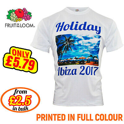 Personalised T-shirt Custom Photo Your Image Or Text Here Printed Stag Hen Party