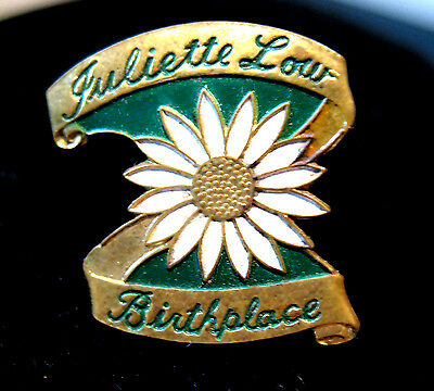 Juliette Low Birthplace EVENT PIN Savannah Girl Scout LARGE SIZE Collectors GIFT