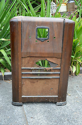 vintage radio case only