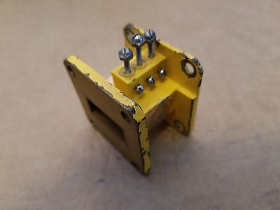 X-Band Microwave Waveguide RF Adjustable Filter Assembly 8.2 GHz - 12.4 GHz