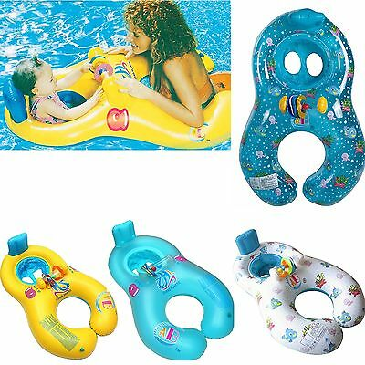New Safe Swimming Ring for Baby Bath Neck Float Mother-child Play Swim ring