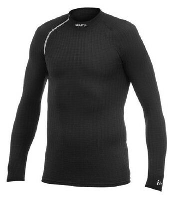 Craft Active Extreme Long Sleeve Crew Neck Base Layer Top Cycling Ski Black XXL