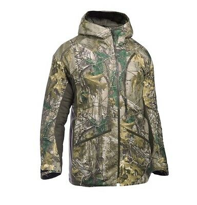 Under Armour Men's Deep Freeze Insulated Camo Parka and Bib Size-L