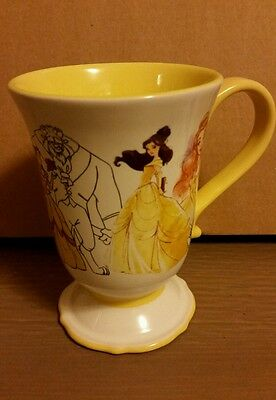 Authentic Disney Beauty and the Beast Art Of Belle Mug -NEW-